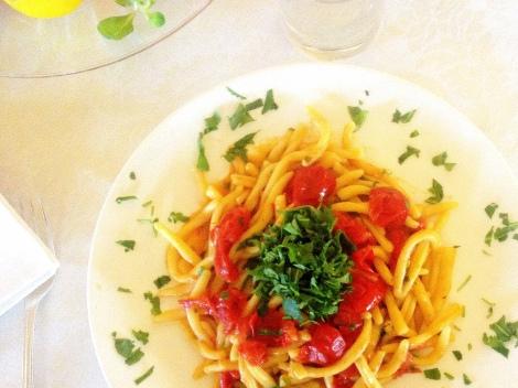 Pasta Bramante Chef Aldo Umbria Truffles best hotel Todi